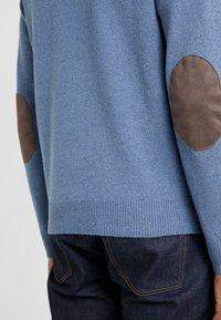 Hackett London - Stickad tröja - blue/denim - 3