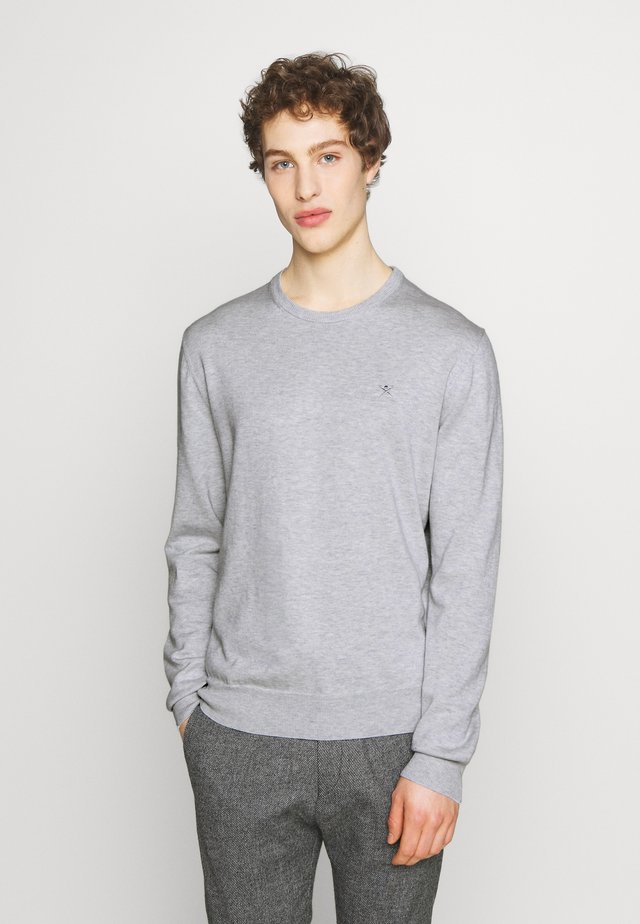 CREW - Neule - pale grey