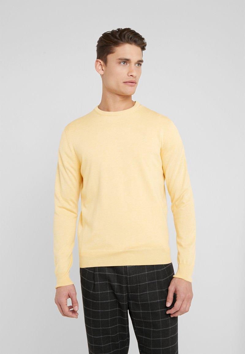 Hackett London - CREW - Strickpullover - yellow