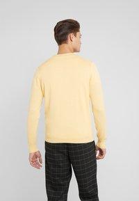 Hackett London - CREW - Strickpullover - yellow - 2