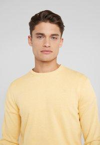 Hackett London - CREW - Strickpullover - yellow - 3