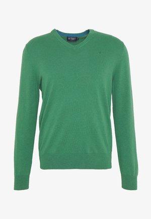 V NECK - Jersey de punto - fresh green