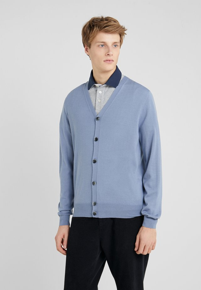 Cardigan - steel blue