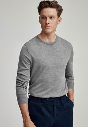 CASH  - Jumper - grey marl