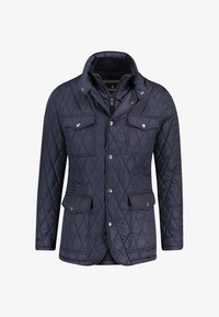 Hackett London - HERREN STEPPJACKE - Lehká bunda - darkblue - 0