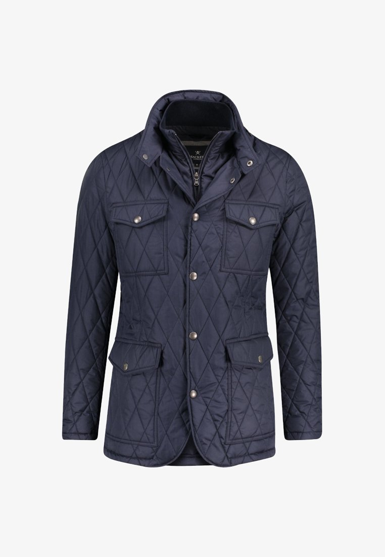 Hackett London - HERREN STEPPJACKE - Light jacket - darkblue
