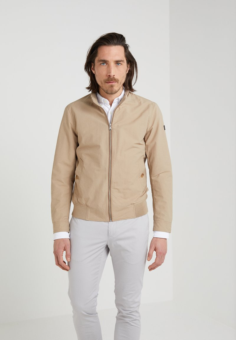Hackett London - BLOUSON - Bomber Jacket - beige