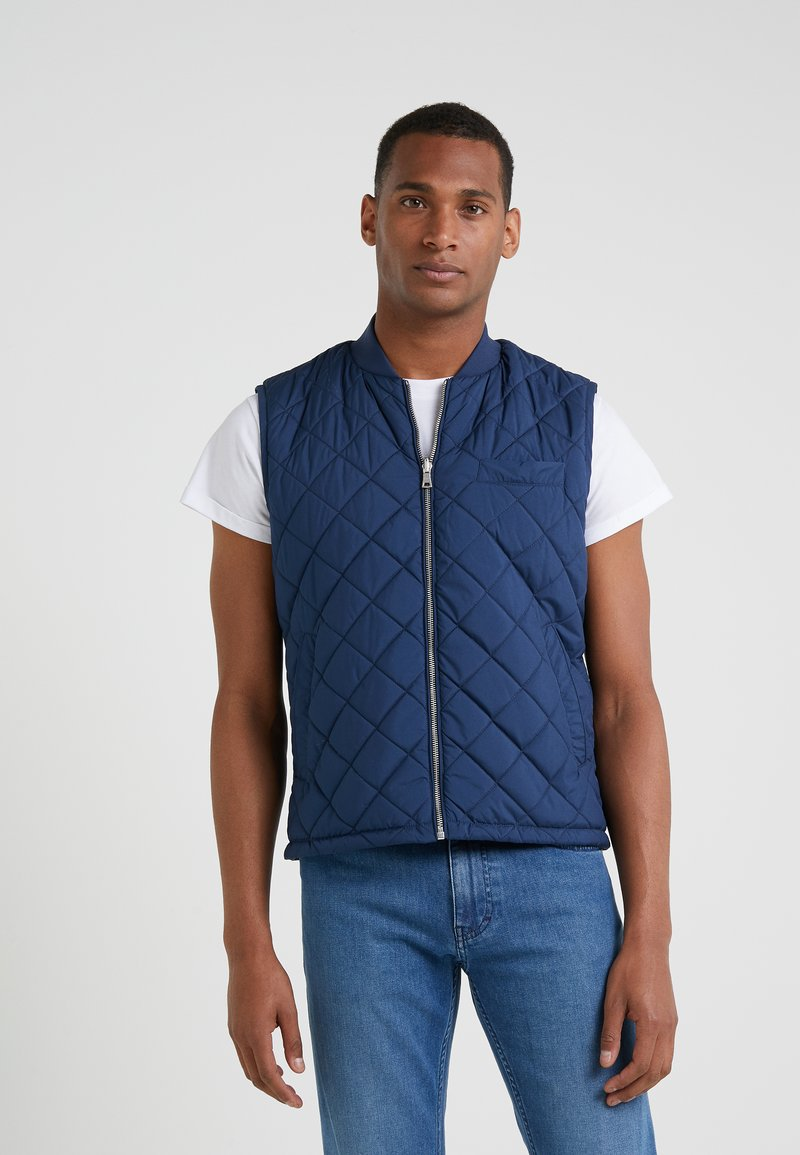 Hackett London - MODULAR GILET - Waistcoat - bright blue