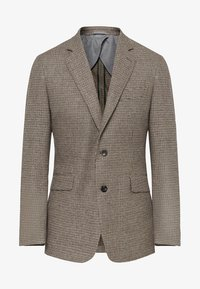 Hackett London - PUPPYTOOTH - Blazer jacket - multi brown - 5