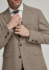 Hackett London - PUPPYTOOTH - Blazer jacket - multi brown - 3
