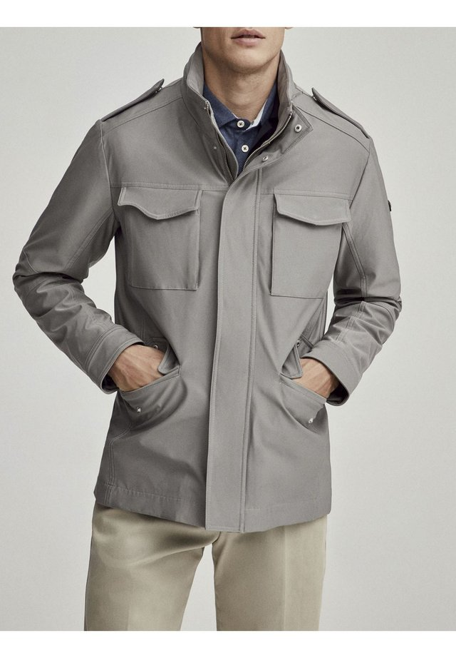 4 POCKET  - Outdoor jacket - carbon
