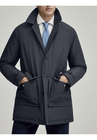 Hackett London - LW INSULATED RAINCOAT - Short coat - navy - 1