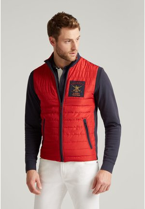 Chaleco - red/navy