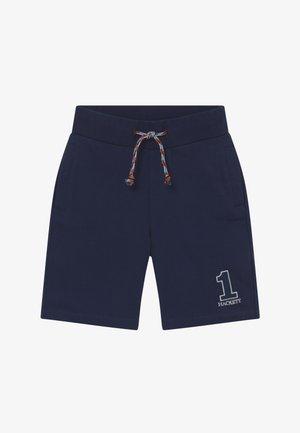 NUMBER - Teplákové kalhoty - navy