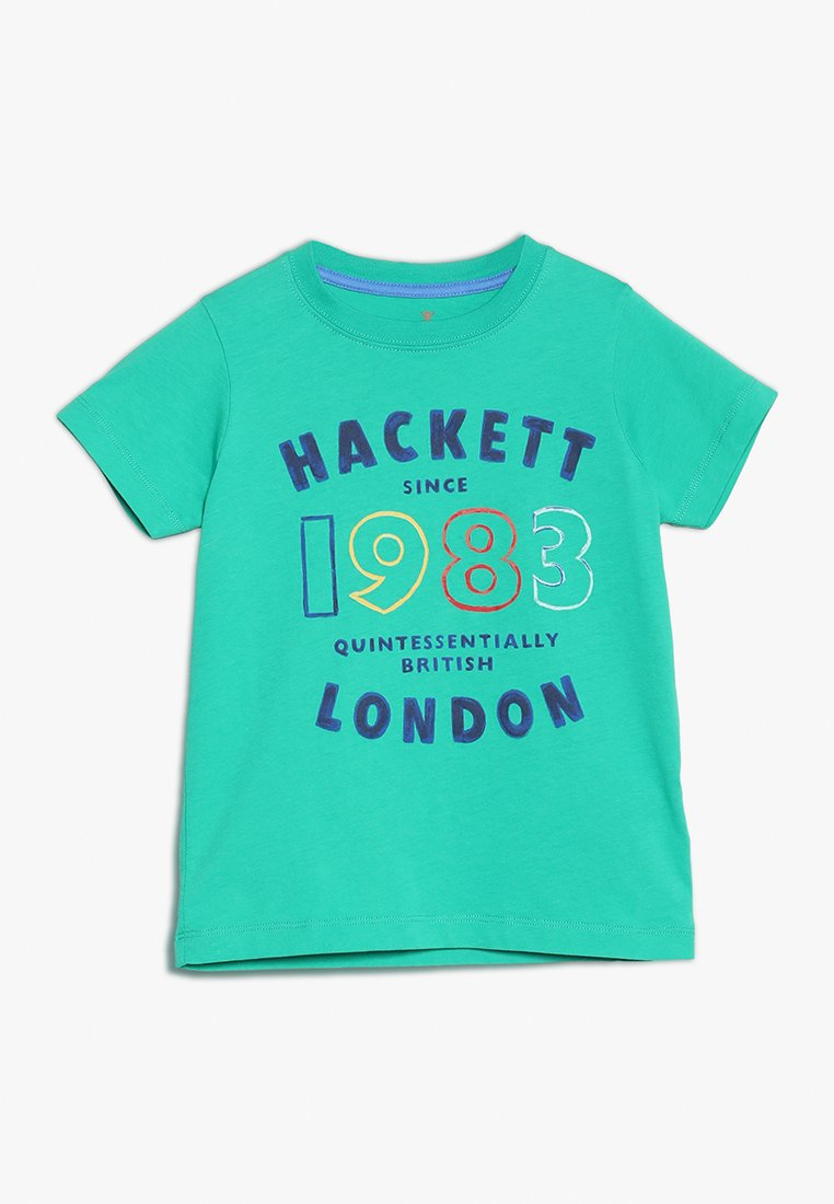 Hackett London - T-shirt con stampa - green