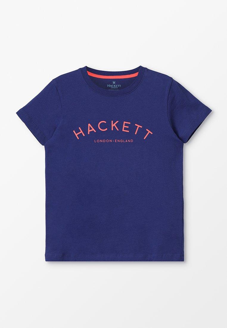 Hackett London - CLASS  - T-shirt con stampa - blue