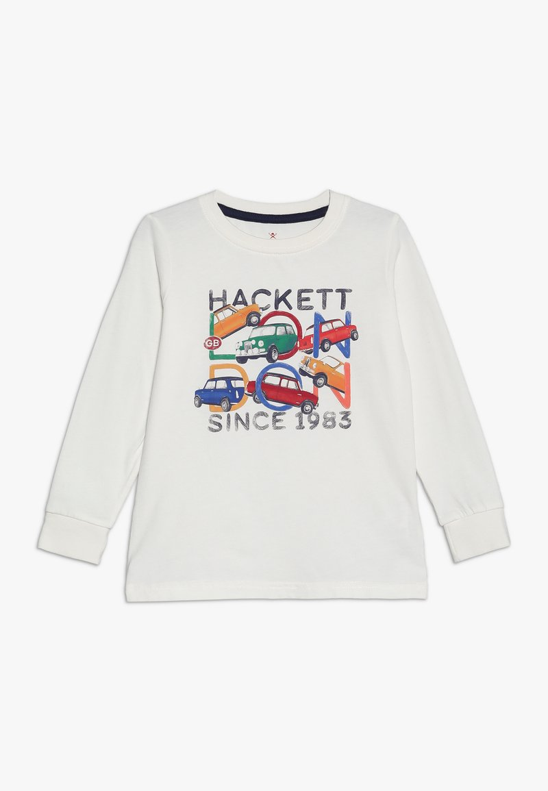Hackett London - CAR - Top s dlouhým rukávem - winter white