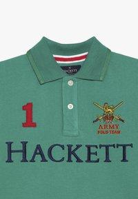 Hackett London - ARMY LOGO  - Polo - green - 2