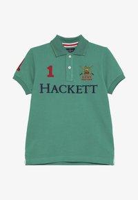 Hackett London - ARMY LOGO  - Polo - green - 4