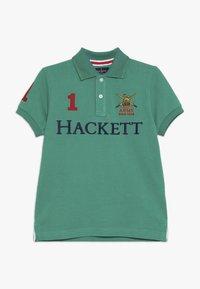 Hackett London - ARMY LOGO  - Polo - green - 0