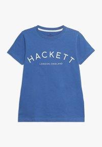 Hackett London - T-shirts print - blue - 0
