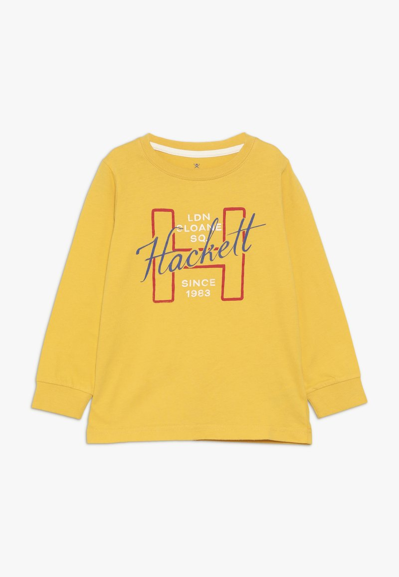Hackett London - LOGO - T-shirt à manches longues - yellow
