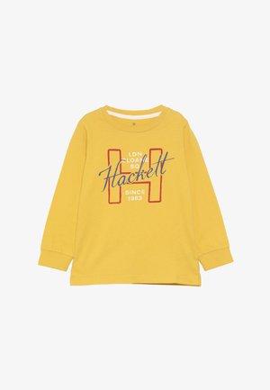 LOGO - Top sdlouhým rukávem - yellow