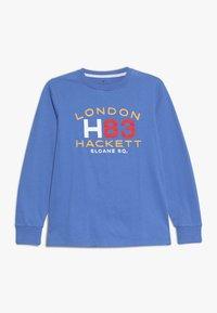 Hackett London - Top sdlouhým rukávem - blue - 0