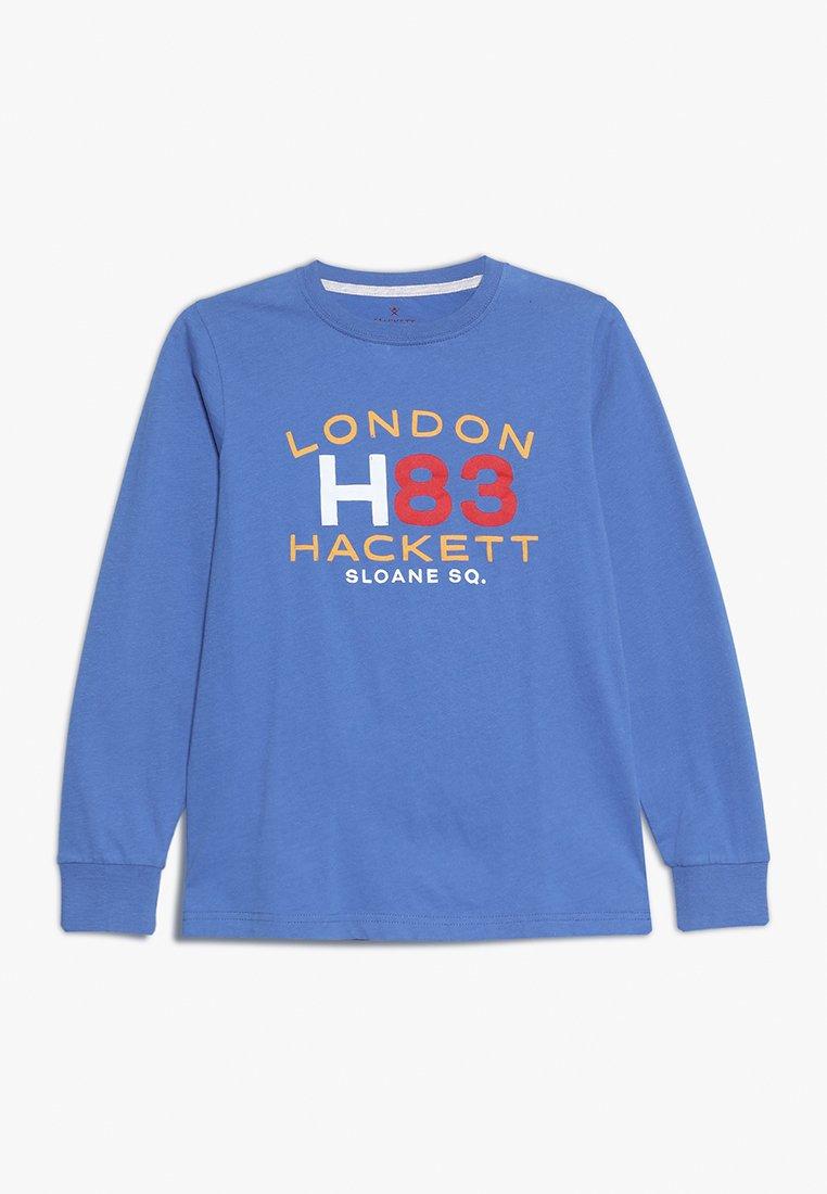 Hackett London - Top sdlouhým rukávem - blue