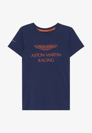 ASTON MARTIN RACING WINGS - T-shirt imprimé - dark blue