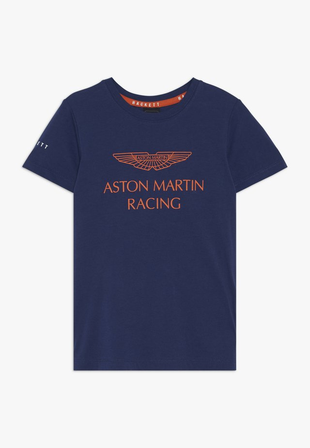 ASTON MARTIN RACING WINGS - T-Shirt print - dark blue
