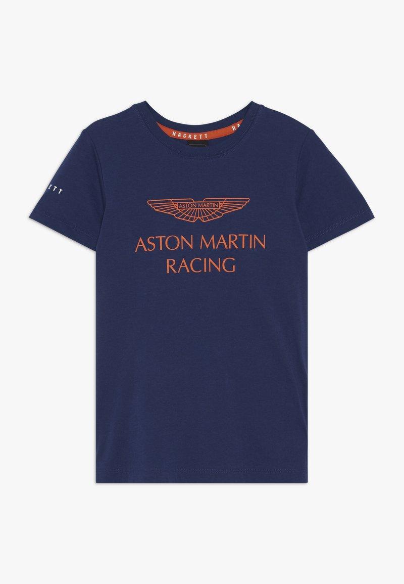 Hackett London - ASTON MARTIN RACING WINGS - Triko spotiskem - dark blue