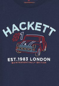 Hackett London - CAR LOGO - Triko s potiskem - navy - 3