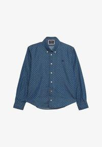 Hackett London - POLKA DOT - Košile - blue denim - 2