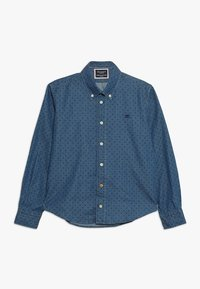 Hackett London - POLKA DOT - Košile - blue denim - 0