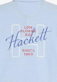 Hackett London - OXFORD SHIELD  - Skjorter - light blue - 3