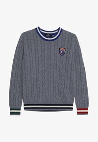 Hackett London - CRICKET - Strikpullover /Striktrøjer - mottled light grey - 3