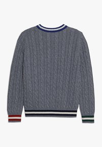 Hackett London - CRICKET - Strikpullover /Striktrøjer - mottled light grey - 1