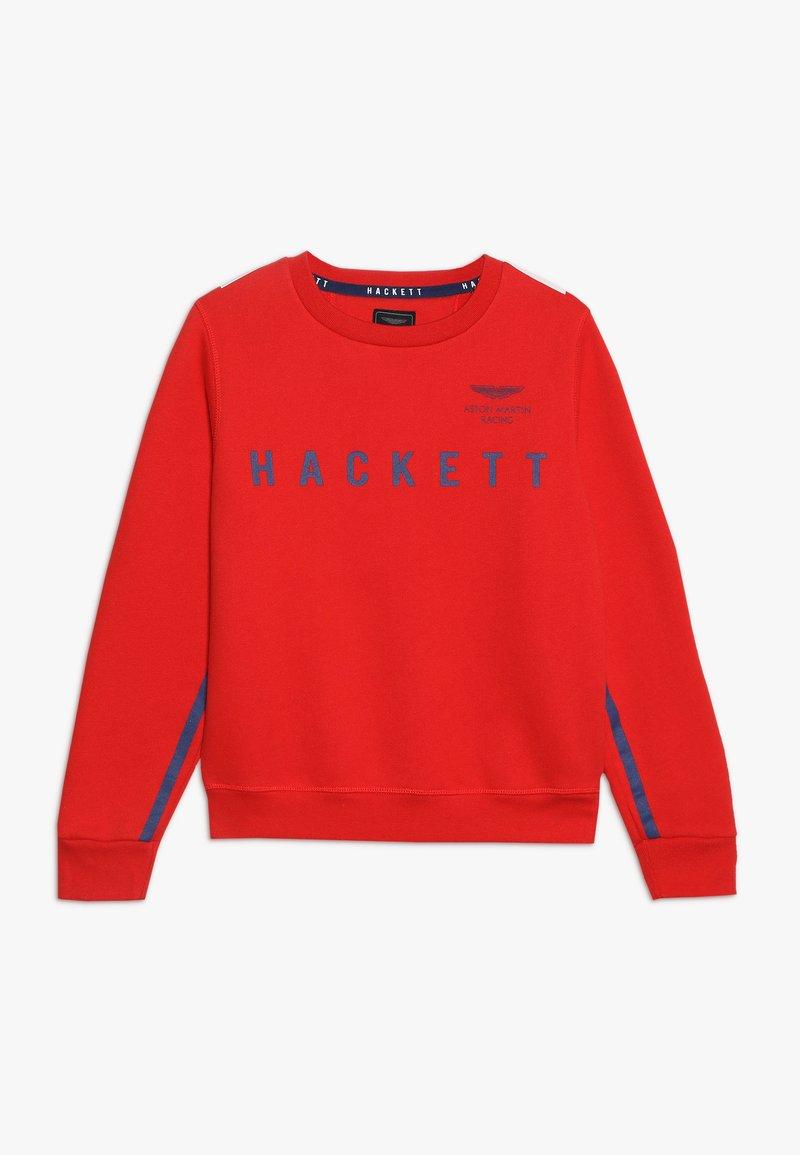 Hackett London - RAG  - Sweatshirt - red/blue