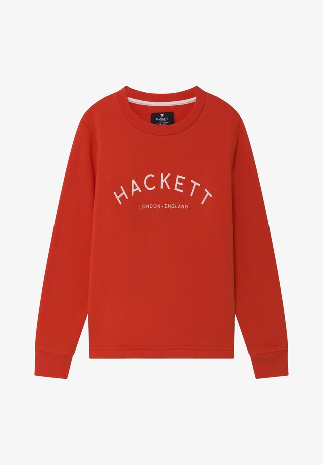LOGO - Sweatshirt - red