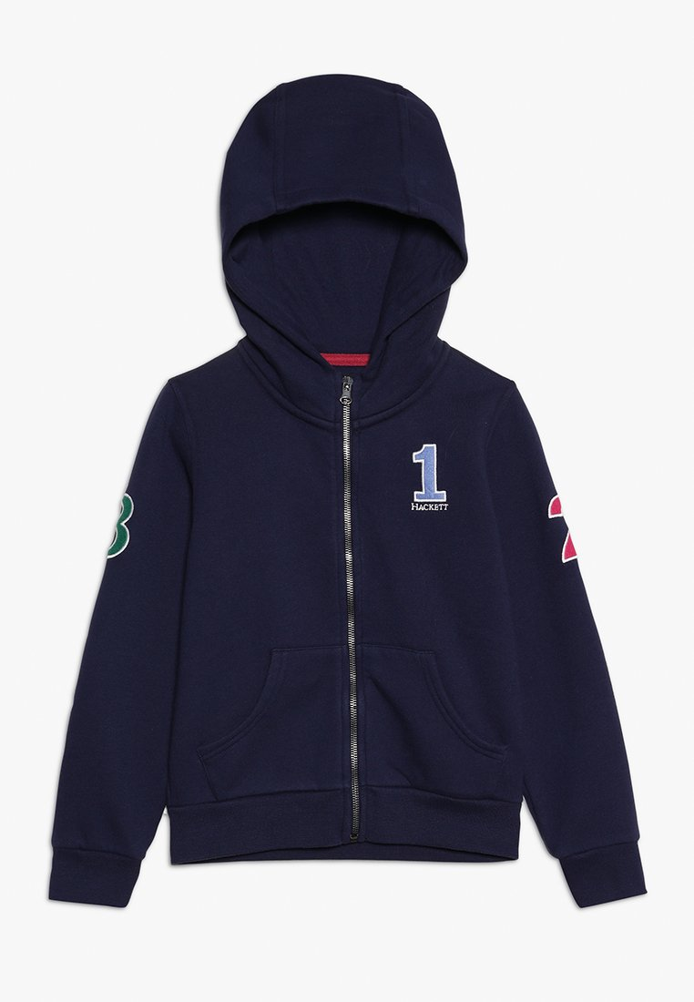 Hackett London - NUMB  - veste en sweat zippée - dark blue