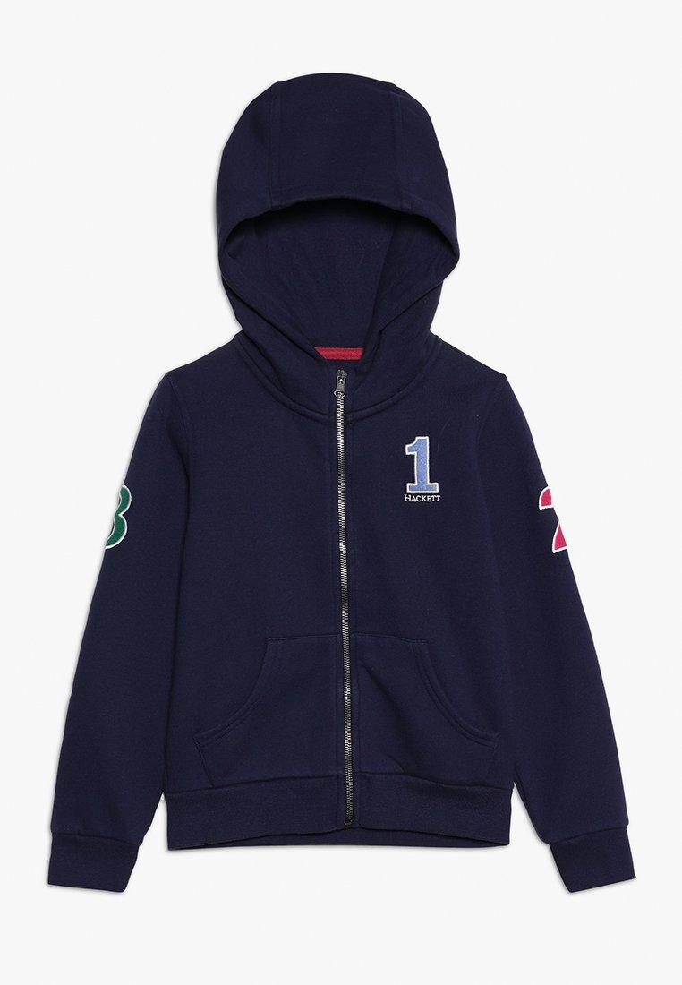 Hackett London - NUMB  - veste en sweat zippée - dark blue