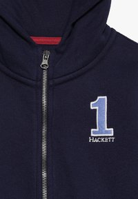 Hackett London - NUMB  - veste en sweat zippée - dark blue - 4