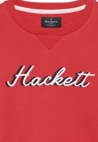 Hackett London - CHAIN LOGO - Mikina - red - 4
