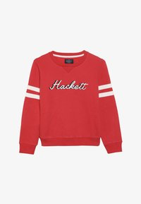 Hackett London - CHAIN LOGO - Mikina - red - 3