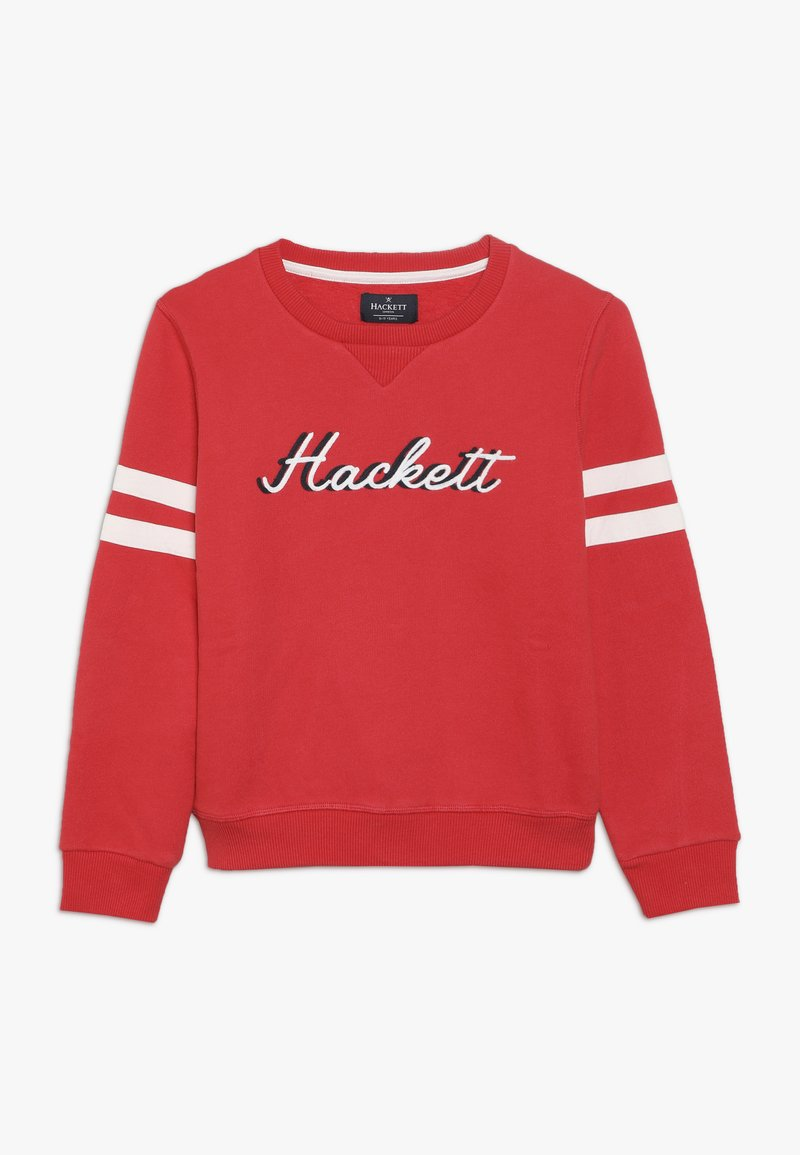 Hackett London - CHAIN LOGO - Mikina - red