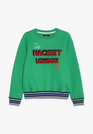 FLOCK LOGO - Sweatshirt - green