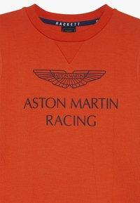 Hackett London - ASTON MARTIN RACING WINGS - Sweatshirt - orange - 4