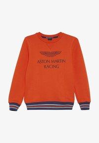 Hackett London - ASTON MARTIN RACING WINGS - Sweatshirt - orange - 3