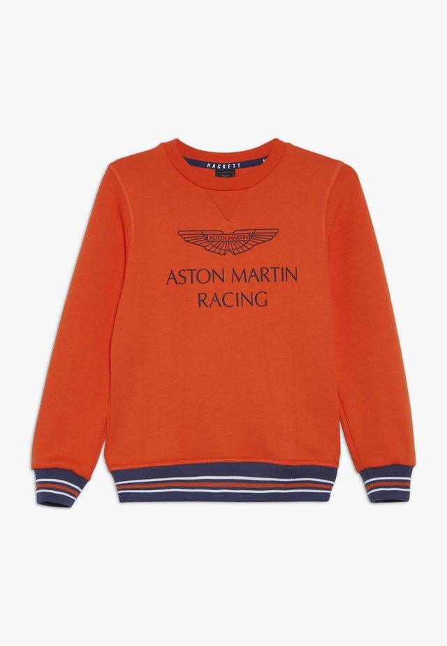 ASTON MARTIN RACING WINGS - Sweatshirt - orange